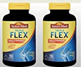 Nature Made TripleFlex - 4 Bottles, 150 Caplets Each