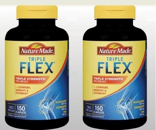 Nature Made TripleFlex - 4 Bottles, 150 Caplets Each by Nature Made