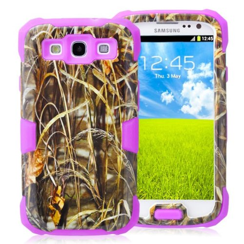 General Shop Glow in the Dark Camo Mossy OAK Tree Case Cover for Samsung Galaxy S3 III I9300 - Glow Dark In S3 Galaxy The Case