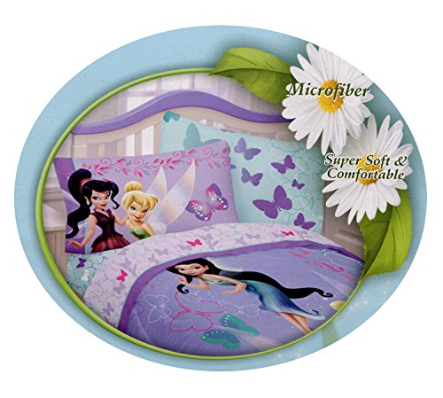 Disney Fairies Tinkerbell 'Sparkling Friends' (Tinkerbell Sheets)