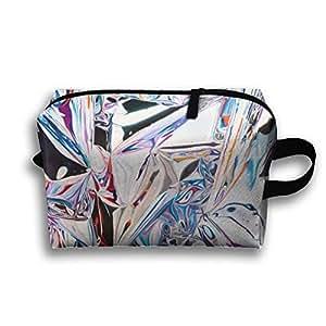Foil Paper Receive Bag Toiletry Bag Canvas Wash Bag Foldable Multi-function Makeup Pouch Portable Storage Bag Travel Bag