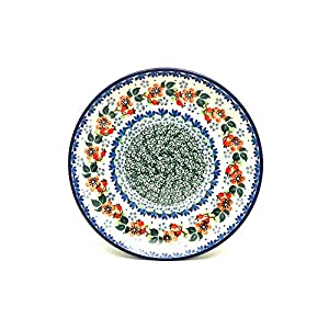 Polish Pottery Plate – Salad/Dessert (7 3/4″) – Cherry Blossom