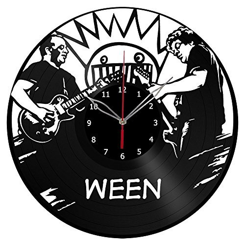 ForLovedGifts Ween Design Vinyl Wall Clock - Handmade Gift for Any Occasion - Unique Birthday, Wedding, Anniversary, Wall décor Ideas for Any Space