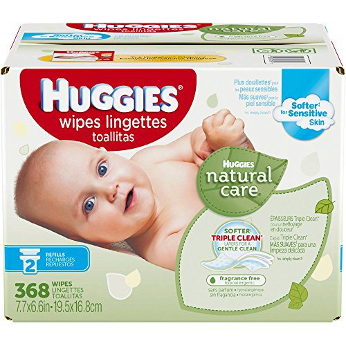 Huggies Natural Unscented Hypoallergenic Vitamin product image