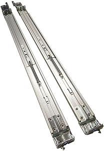 Dell PowerEdge R620 R630 R640 R420 R430 R320 1U Sliding ReadyRails II Rail Kit Type A7 - Dell P/N: CWJ0X 6RTCR 9D83F 81WCD (Renewed)