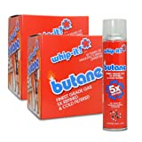 24 cans (2 cases) Whip-it! 300ml 5x Refined Butane Fuel