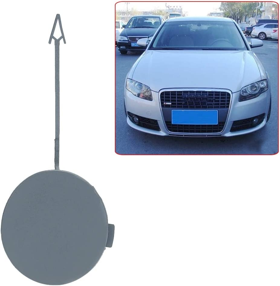 Gift-4Car Front Bumper Towing Hook Eye Cover Cap for Audi A4 B7 2005-2008