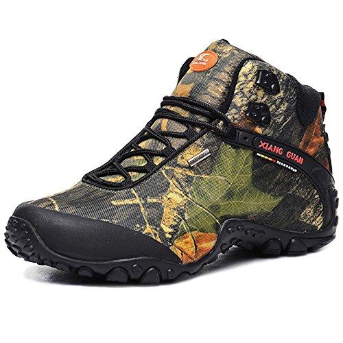 fe4880faaa5 Chaussures de randonnée Unisexe Waterproof Hiver Outdoor haute-t.