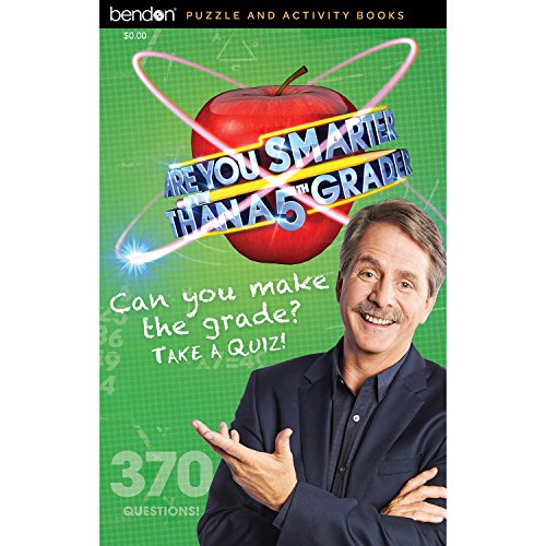 Bendon 78439 Are You Smarter Than a Fifth Grader? 96-Page Digest Activity Book