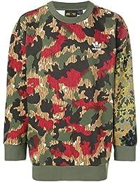 Men's Originals x Pharrell Williams HU Hiking Crew Sweatshirt Multicolor cy7863