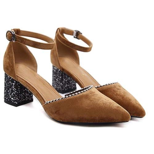 Zapatillas con Cordones De Ante para Mujer Mocasines De Verano Zapatillas De Deporte con Cuña En La Parte Superior De Las Mujeres: Amazon.es: Zapatos y ...