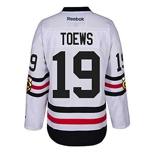 Reebok Chicago Blackhawks Adult Jonathan Toews 2017 Winter Classic Premier Jersey - Team Color #19, Medium