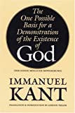 download ebook the one possible basis for a demonstration of the existence of god (bison book s) pdf epub