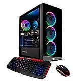 iBUYPOWER Elite Gaming PC Computer Desktop Element MR9700 (AMD Ryzen 3 3200G 3.6GHz, AMD RX 570 4GB, 8GB DDR4 RAM, 1TB HDD, 240GB SSD, WiFi Ready, Windows 10 Home