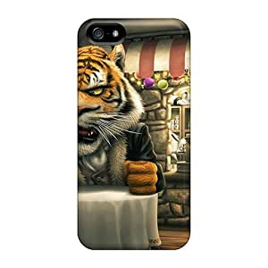 FutureStarCase VKA27971Xhcc Case Cover Iphone 5/5s Protective Case Tiger Painting