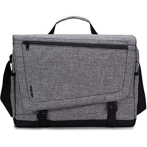 Messenger Bag for Men,VONXURY Water Resistant Lightweight Business Satchel 15.6inch Laptop Bag School Bag