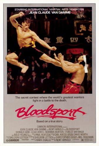 "KICKBOXER 1989 MOVIE SILK POSTER 11/""x17/"" JEAN CLAUDE VAN DAMME KUNG FU FIGHTING"