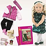 """Our Generation Audrey-Ann 18"""" Doll and Book Deluxe Set"""
