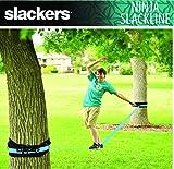 slackers 50-Feet Slackline Classic Set with Bonus
