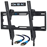 Electronics : Mounting Dream MD2268-MK TV Wall Mount Tilting Bracket for Most 26-55 Inch LED, LCD and Plasma TVs up to VESA 400 x 400mm and 100 LBS Loading Capacity, 6 FT HDMI Cable and Torpedo Level