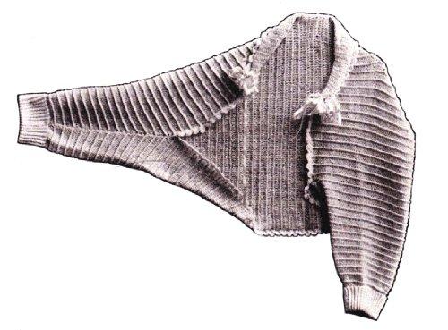 Ladies Crocheted Comfy Shrug Bed Jacket Shoulderette Crochet Pattern