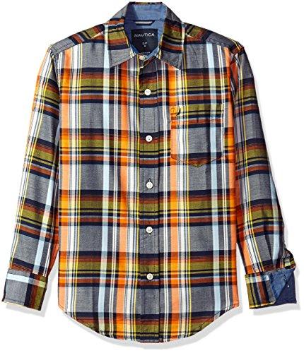 nautica-boys-lookout-plaid-long-sleeve-woven-shirt-sport-navy-small