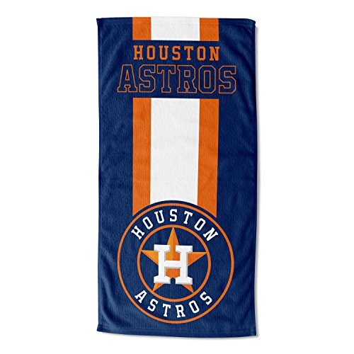 "Officially Licensed MLB Houston Astros Zone Read Beach Towel, 30"" x 60"""