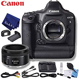Canon EOS-1D X DSLR Camera (US Model) Standard Bundle