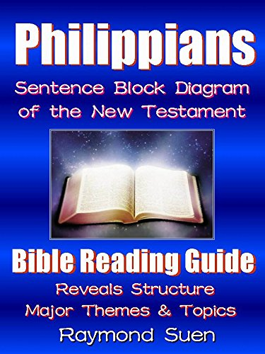 philippians - sentence block diagram method of the new testament holy bible  - themes & structure
