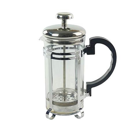 Cafetera con filtro, cafetera francesa de prensa en cafetera ...