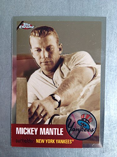 2007 Topps Chrome Mickey Mantle Story MMS16 Mickey Mantle NM/M (Near Mint/Mint)
