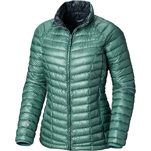 Mountain Hardwear Ghost Whisperer Reversible Jacket - Women's Lake Shore Blue/Zinc, ()