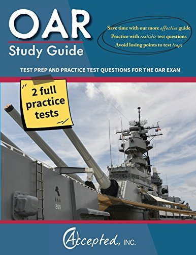 OAR Study Guide Questions 2015 06 22