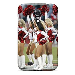 For Galaxy S4 Premium Tpu Case Cover San Francisco 49ers Cheerleader Protective Case