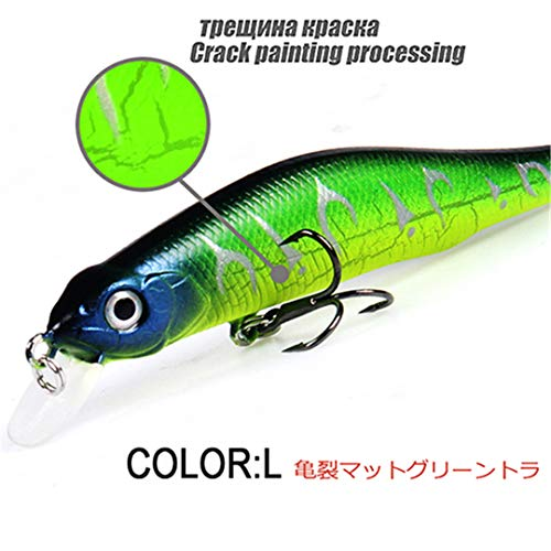 - KEHAIOO Retail A+ Fishing Lures, Assorted Colors, Minnow Crank 80Mm 8.5G,Magnet System. Hot Model Crank Bait L