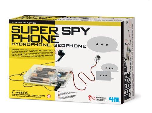 4M Super Spy Phone Kit
