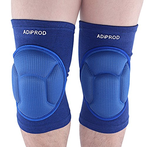 Knee Pads , ADiPROD (1Pair) Thick Sponge Collision - Mens Wrestling Knee Pads
