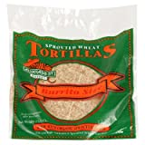 Alvarado Street Bakery Organic Burrito Size Sprouted Wheat Tortilla, 13.2 Ounce -- 15 per case.