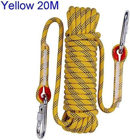 CHENTAOCS Escalada Nylon Supervivencia Escape de Fuego Cable ...