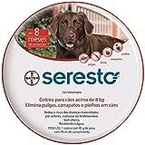 Coleira Anti Pulgas e Carrapatos Bayer Seresto para Cães e Gatos Acima de 8kg - acima de 8kg