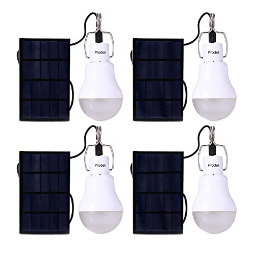 Prodeli Solar Panel Powered LED Light Bu - 1.5w Solar Panel Shopping Results
