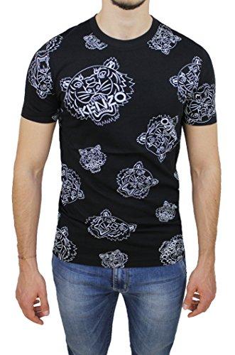 Kenzo Herren T-Shirt schwarz schwarz Medium