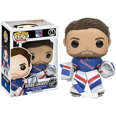 Funko 11210 NHL Henrik Lundqvist Pop Figure: Funko Pop! Nhl:: Toys & Games