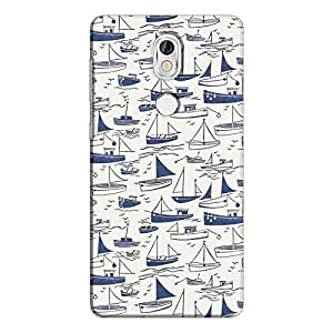 Cover It Up - Harbour Print Nokia 7Hard Case