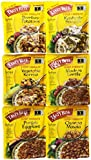 Tasty Bite Indian Entrée, Variety Pack, 10 Ounce, 6 Count