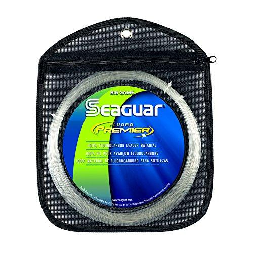 - Seaguar Fluoro Premier 50-Yards Fluorocarbon Leader (130-Pounds)