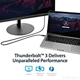 StarTech.com Thunderbolt 3 Cable - 6 ft / 2m - 4K