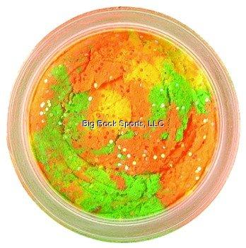Berkley BGXTBRB PowerBait Glitter Chrome-Glow Dough, Rainbow Glitter, 1.75-Ounce, Outdoor Stuffs