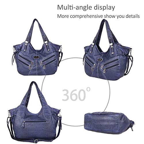 pockets DORIS bags totes Hobo amp; women for large NICOLE bags shoulder Blue handbags multiple 74TqxHwWBZ