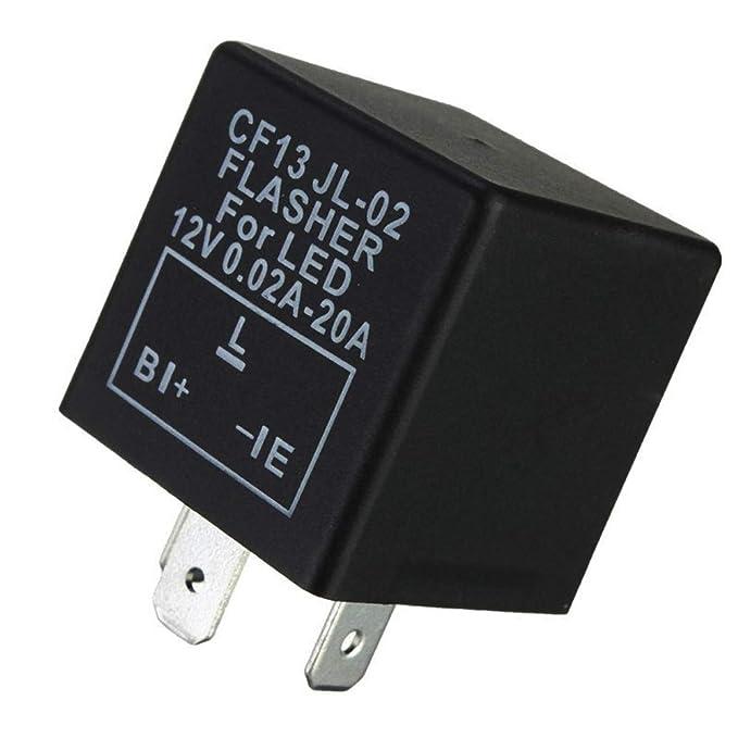 Amazon Ijdmtoy 1 3pin Cf13 Electronic Flasher Relay Fix For Rhamazon: Subaru Loyale Flasher Location At Gmaili.net